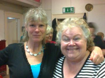 Caz and Janey Hall