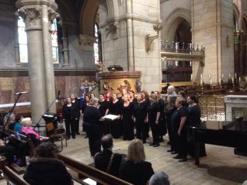 Janey Hall and the Soco Womens Chorus