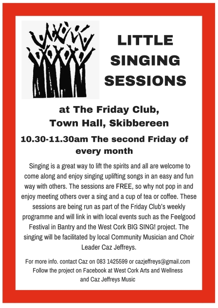 Little Singing Sessions poster