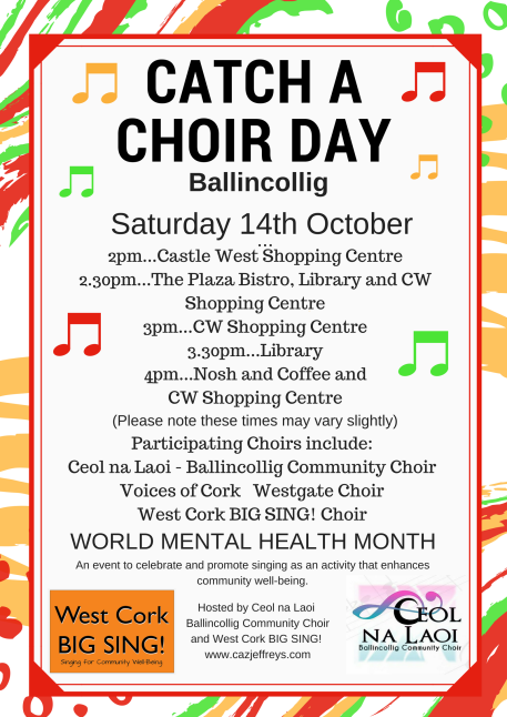 Programme for Catch a choir day(2)