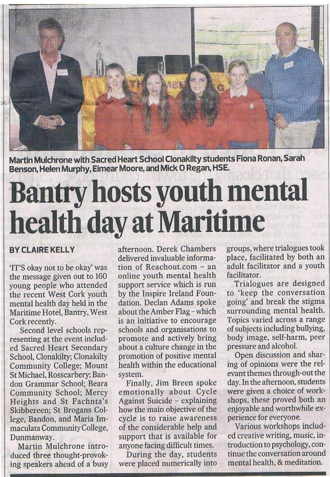 Youth Mental Health Day 2014