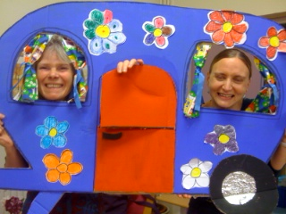 One of the caravans made by the group at Ballyphehane Day Care Centre