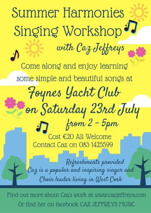 Summer HarmoniesSinging Workshop
