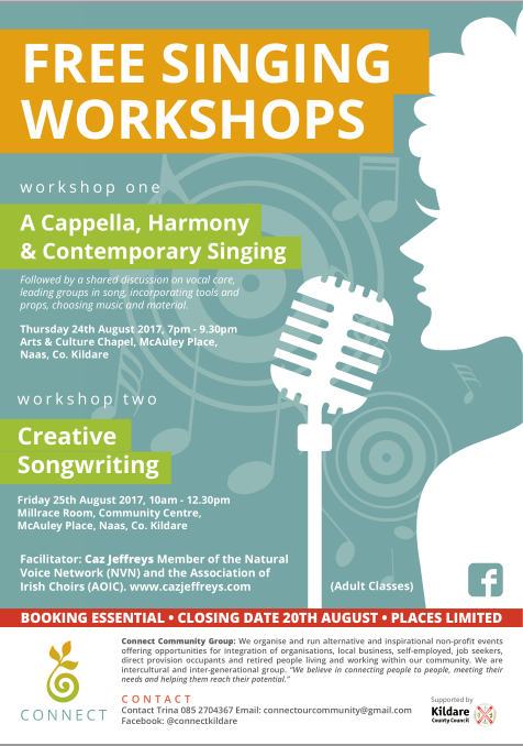 Two day Singing workshops