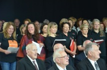Full Choirs, Men close up in front