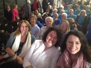 Jane, Maureen B and Lisa