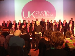Scott and his choir