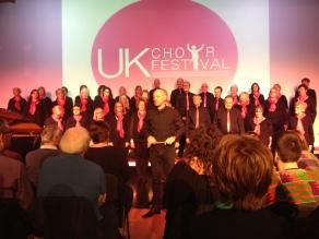Scott and his choir