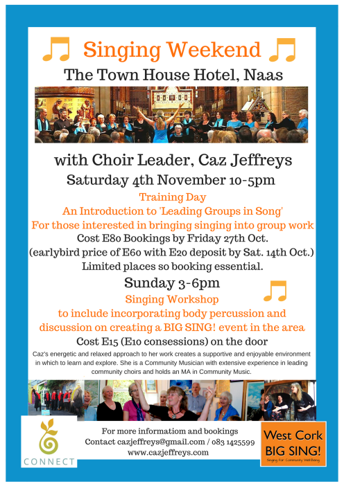 Singing Weekend in Naas November 2017(1)