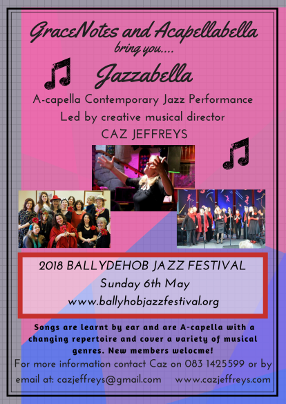 GraceNotes and Acapellabella at Ballydehob _jazz 2018(2)