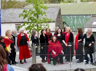 Acapella Bella at the Jazz Parade 1