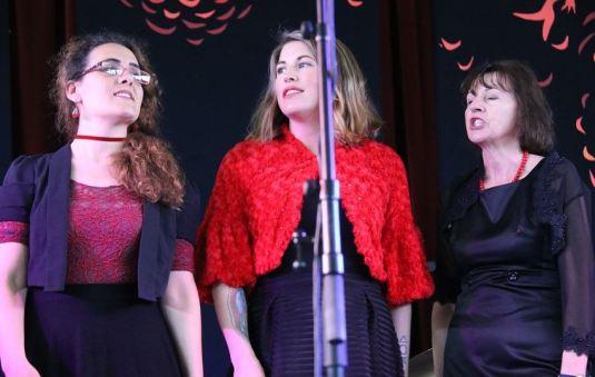 Katie, Venita and andrea