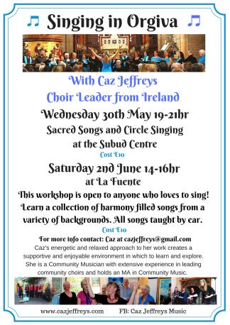 Singing in Orgiva May_June 18(2)