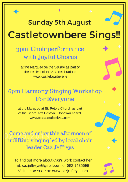 Choir Performance and Singing Workshop