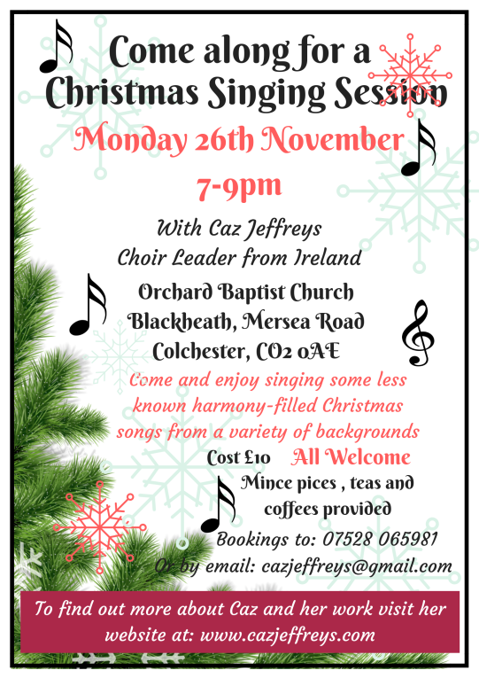 Christmas Singing Session in Colchester(1)