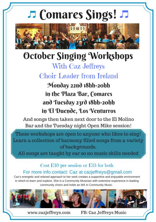 Singing Workshop at Comares Oct. 18(2)