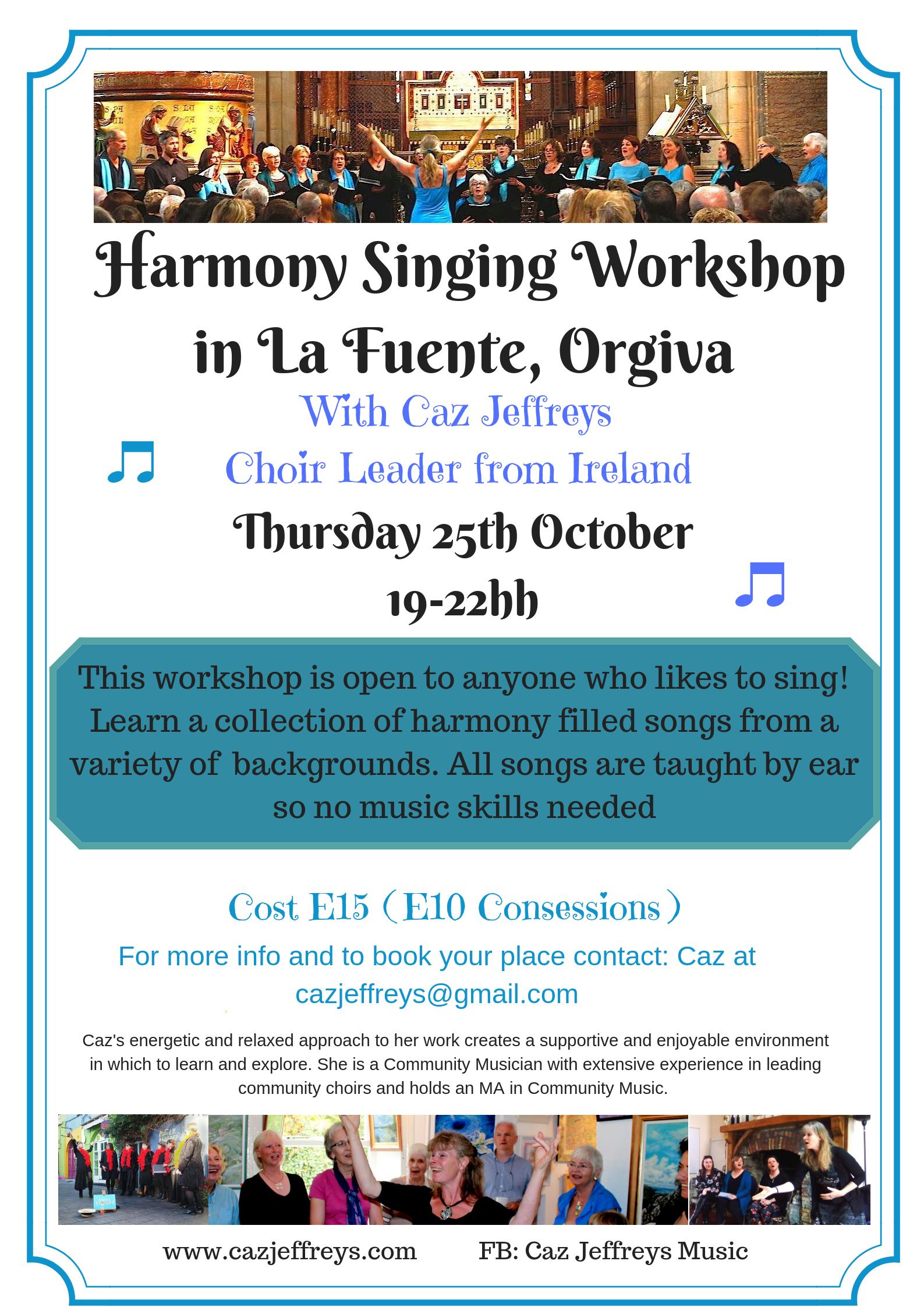 Singing Workshop at Orgiva Oct. 18(3)