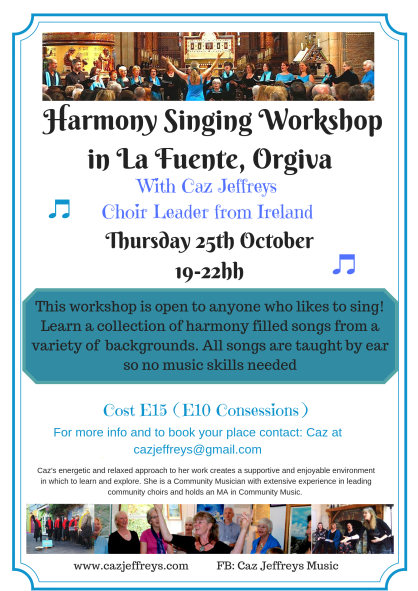 Singing Workshop at Orgiva Oct. 18(3)