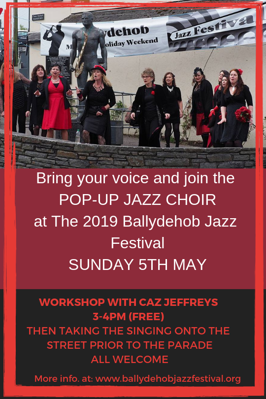 Pop-Up Choir at Ballydehob Jazz Fest 2019 (1)